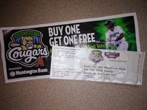 Cougars ticket in Elgin, Illinois