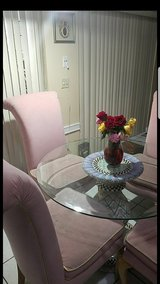 Four Big Pink Ethan Allen Chairs in Melbourne, Florida