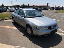 1997 Audi A4 1.8L 4dr 5spd Silver in Spangdahlem, Germany