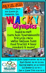 Wacky Olympics in Hampton, Virginia
