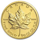 2009 Canada 1/10 oz Gold Maple Leaf BU in Fort Polk, Louisiana