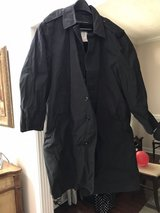 trench coat with cold weather removable lining- Black in Pleasant View, Tennessee