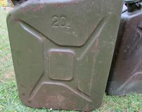 Jerry Can, Fuel Can, vintage gas can in Lakenheath, UK