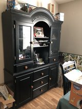 Beautiful Black Hutch in Camp Lejeune, North Carolina