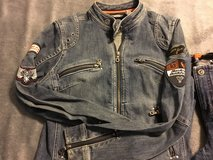 Women's Harley Davidson Matching Denim Jacket & Pants in Travis AFB, California