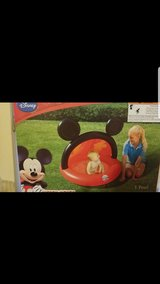 Mickey Mouse Inflatable Baby Pool with Sprinkler in Melbourne, Florida