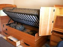 Wanted twin military style bed (coffin rack) in Vista, California