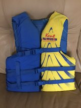 Adult life jacket in Byron, Georgia