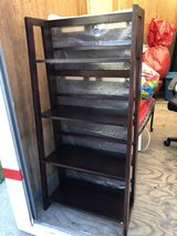 Bookshelves - Wooden / Espresso Color (2 Available) in Schaumburg, Illinois