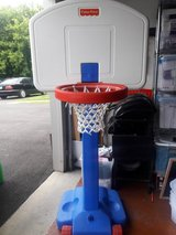 Basketball hoop - Fisher Price in Naperville, Illinois
