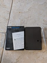 brand new kindle paperwhite and case in Plainfield, Illinois