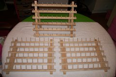 3 June Tailor 60 Spool Wood Sewing Thread Rack in Fort Campbell, Kentucky