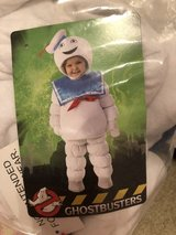 Ghostbusters Stay Puft Toddler Costume 12/18 month in Chicago, Illinois