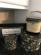 Hat Boxes and Frame set in Kingwood, Texas