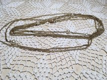 Flapper necklace vintage double stranded with pearls in Kingwood, Texas