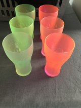 Neon Coca Cola  glasses in Ramstein, Germany