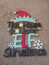 elf plaque in Lakenheath, UK