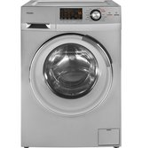 Haier 24-Inch Wide Front Load Washer And Dryer Combination, Silver | HLC1700AXS in Fort Drum, New York
