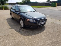 BLACK 2007 AUDI A4 1.8 T ESTATE PETROL in Lakenheath, UK