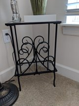 Iron Table Set with Glass Top/Bottom in Quantico, Virginia