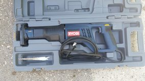 RYOBI 12 amp SAWSALL W/ CASE in Kingwood, Texas