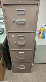 Four drawer filing cabinet in Oswego, Illinois
