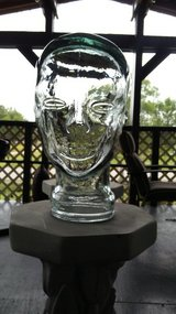 Vintage Glass Mannequin Head in Fort Campbell, Kentucky