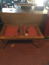 Solid Wood and Glass Display Coffee Table in Fort Polk, Louisiana