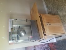Popcorn maker and stand in Duncan, Oklahoma