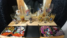 Authentic Ed Hardy Glassware in Hinesville, Georgia