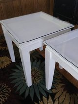 pair of shadow box end tables in Cherry Point, North Carolina
