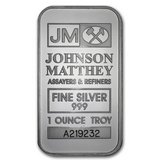1 oz Silver Bar - Johnson Matthey in Fort Polk, Louisiana