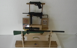 Weapons Collection (wood carving) in Camp Lejeune, North Carolina