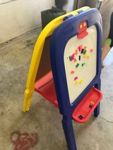kid table, and paint board in Vista, California