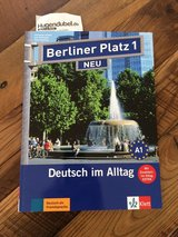 German A1 level language book with 2 CD's in Wiesbaden, GE