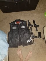 vest, 3 airsoft guns, and a smartphone in Fort Leonard Wood, Missouri
