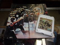 KISS Hotter Than Hell 8 Track Tape and Poster in Fort Riley, Kansas