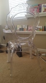Clear Modern Ghost Chair w/Arms BRAND NEW. in Travis AFB, California
