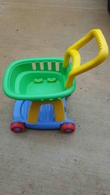 toy shopping cart in Chicago, Illinois