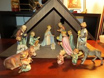 Goebel Hummel 14 large figure nativity with stable in The Woodlands, Texas