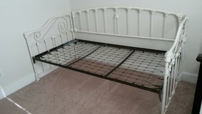 Antique, New Orleans, iron day bed in The Woodlands, Texas