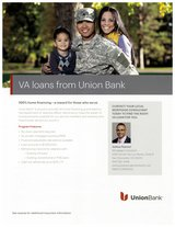 Local VA Loans by Union Bank in Vista, California