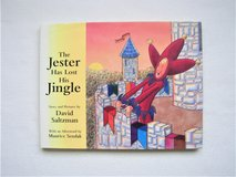"""The Jester Has Lost His Jingle"" Book by David Saltzman -EXC COND-Children's Hardcover in Chicago, Illinois"