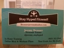 Personal Training: In home, at gym or online & meal prep in Fort Carson, Colorado