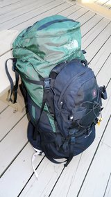 THE NORTH FACE Stamina back pack hiking internal frame M/M & Summit day bag in New Lenox, Illinois