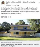 3 bedroom 2.5 bath with 20x40 inground pool in Fort Polk, Louisiana