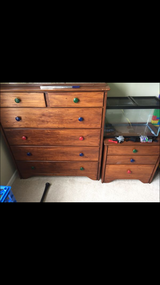 tall dresser and nightstand in Morris, Illinois