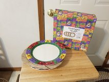 Brand new xmas plates and decorative Easter egg plate in Morris, Illinois
