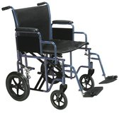 Medical Bariatric Heavy Duty Transport Wheelchair in Wilmington, North Carolina