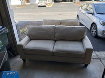 Couch and love seat in Yorkville, Illinois